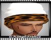 *K* White Cheetah Beanie