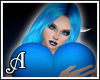 Blue Heart Hug Avatar