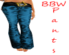 BBW Blue Spotted Stars