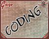 !GG! Coding Sign