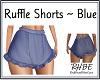 RHBE.RuffleShortsBlue