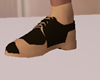 Nude and Brown Shoes