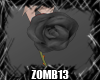 Z| Rose hangers Black