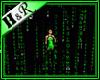 matrix scrolling room