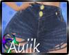 A  Dark Denim Shorts