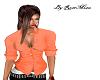 Shirt orange sexy