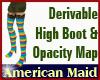 !AM! Derivable High Boot