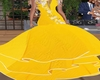 Lemon Ballroom Gown