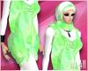 24:Lovely Green Hijab