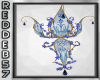 Blue Gold Crown