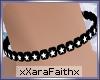 ~XF~ Star Choker Blk/Wht