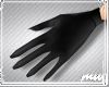 !Cat Gloves Black