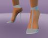 Silver Gray Heels