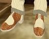 Beige Shoe Crocodile