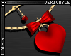 0 | Heart & Bow Necklace