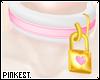 [pink] Loveubus Collar F