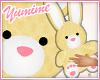 [Y] (hand) Bunny Plush
