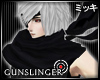 ! Black Gunslinger Scarf