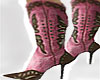 Cowgirl Pink Brown Boot