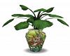 Deco Vase w Plant