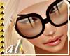 *AL*Horizon Blk Glasses