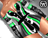 ⓦ RACE ME! Green TOP