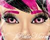 ~Fuschia Eyebrows