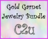 C2u Gold Garnet Bundle