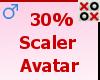 30% Scaler Avatar - M