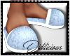 !D! PJ Slippers BabyBlue