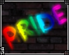 {S}PRIDE GLOW WALL SIGN