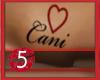Cani Request Tattoo