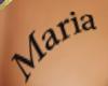 tatoo Maria