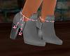 Pink Ribbon Boots