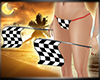 Race Car Checkered Flags