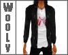 Jacket shirt w DK-UK