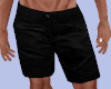 [B] Menz Black Shorts