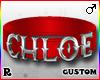 ☢! Chloe Collar Silver