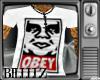 Obey V neck Tee