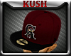 Kd.CA Maroon Fitted Fwd