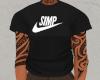 simp shirt black | f