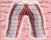*CA* Pink Plaid Shorts