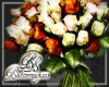 Rose Bouquet Ivory Rust