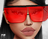 NP. Red Love Glasses
