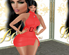 REMY HOT RED DRESS RLL