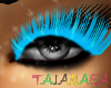 TAJ:BlueEyeLashes