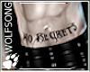 WS ~ No Regrets Belly M