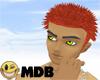 ~MDB~ BRIGHT RED SHOCKED