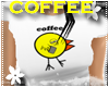 *S* Coffee Chick White
