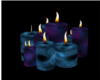 Star Glitter Candles